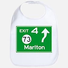 NJTP Logo-free Exit 4 Marlton Bib