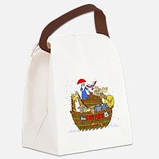 Noah's Ark Canvas Lunch Bag