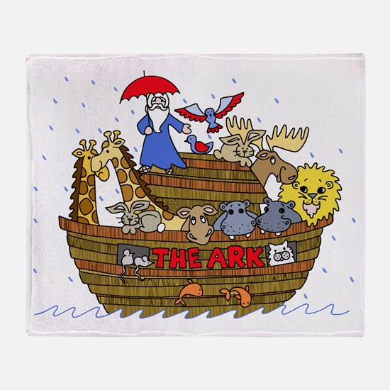 Unique Noah Throw Blanket