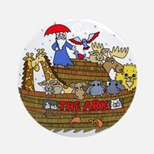 Noah's Ark Round Ornament