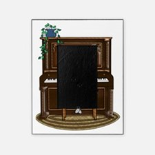 Little Girl Practicing Piano Picture Frame