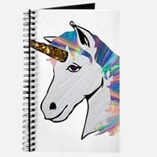 glitter unicorn Journal