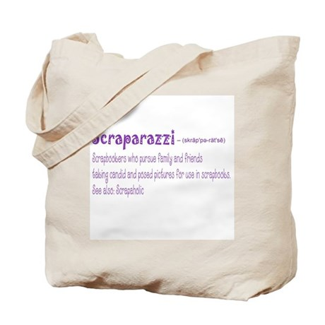 Front Center Design with Back Tote Bag