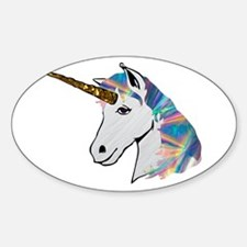 glitter unicorn Decal