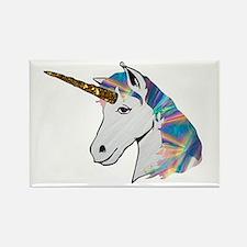 glitter unicorn Magnets