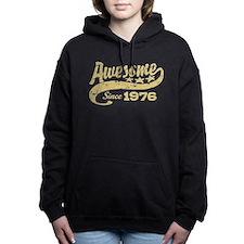 Funny 76 years old Women's Hooded Sweatshirt