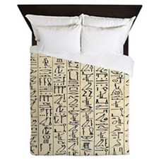 Cute Egyptians Queen Duvet
