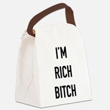 I'm Rich Bitch Canvas Lunch Bag