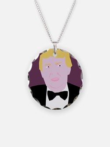 purple donald trump Necklace