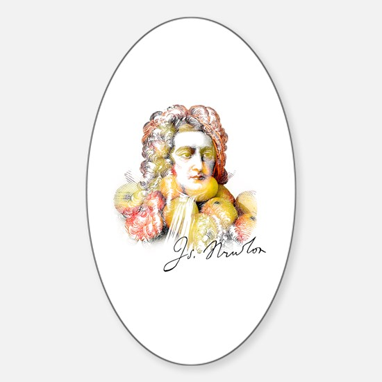Cute Historical figures Sticker (Oval)