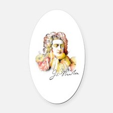 Cute Historical figures Oval Car Magnet