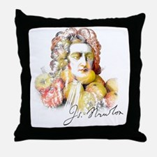 Funny Historical figures Throw Pillow