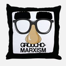 Unique Marx brothers Throw Pillow