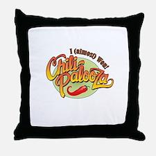 Chili-Palooza 2nd Place Throw Pillow
