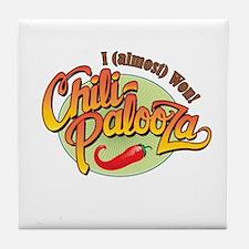 Chili-Palooza 2nd Place Tile Coaster