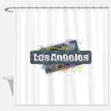 Los Angeles Design Shower Curtain
