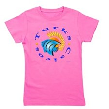 Cute Orange circles Girl's Tee