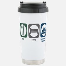 Cute Funny banker Travel Mug