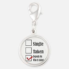 Single ready to mingle Charms