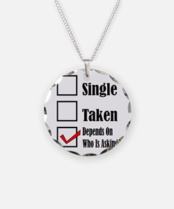 Single ready to mingle Necklace