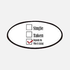 Single ready to mingle Patch