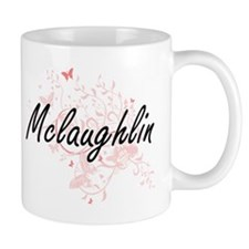 Mclaughlin surname artistic design with Butte Mugs