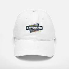 Fort Worth Design Baseball Baseball Cap