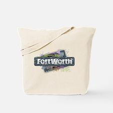 Fort Worth Design Tote Bag