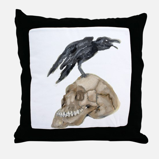 Unique Poe Throw Pillow