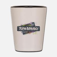 San Diego Design Shot Glass