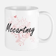 Mccartney surname artistic design with Butter Mugs