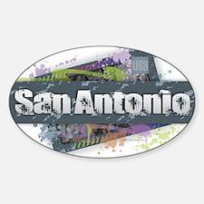 San Antonio Design Decal
