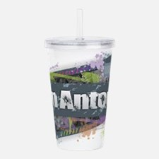 San Antonio Design Acrylic Double-wall Tumbler
