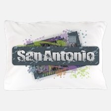 San Antonio Design Pillow Case