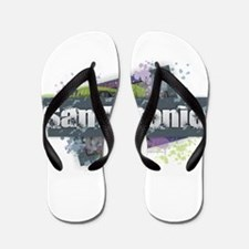 San Antonio Design Flip Flops