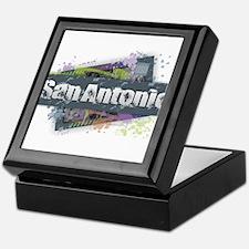 San Antonio Design Keepsake Box