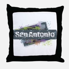 San Antonio Design Throw Pillow