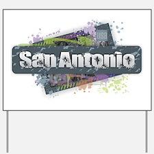 San Antonio Design Yard Sign