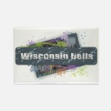 Cute Wisconsin madison Rectangle Magnet