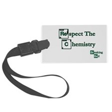 BREAKINGBAD RESPECT CHEMISTRY Luggage Tag