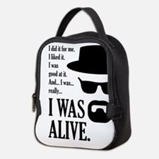 BREAKINGBAD I WAS ALIVE Neoprene Lunch Bag
