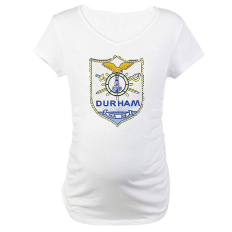 USS DURHAM Maternity T-Shirt