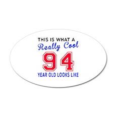Really Cool 94 Birthday Desi Wall Decal