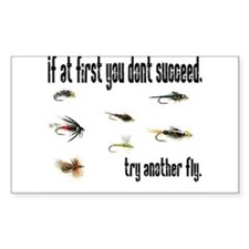 If at first you dont succeed, Sticker (Rectangular