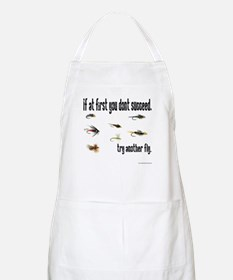 If at first you dont succeed, BBQ Apron