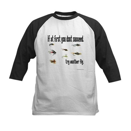 If at first you dont succeed, Kids Baseball Jersey