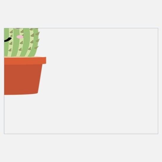 Funny Cactus Wall Art