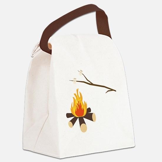 Cute Summer camp Canvas Lunch Bag