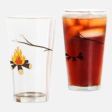 Cute Summer camp Drinking Glass