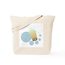 Mango Bubble Tea Tote Bag